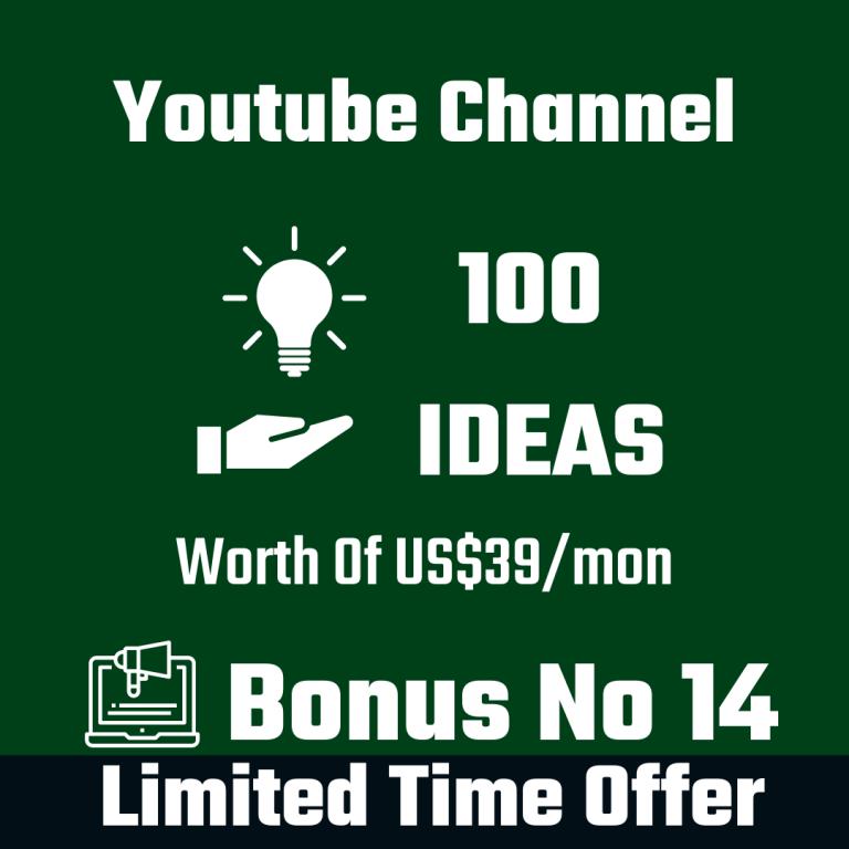 100 Channel Ideas
