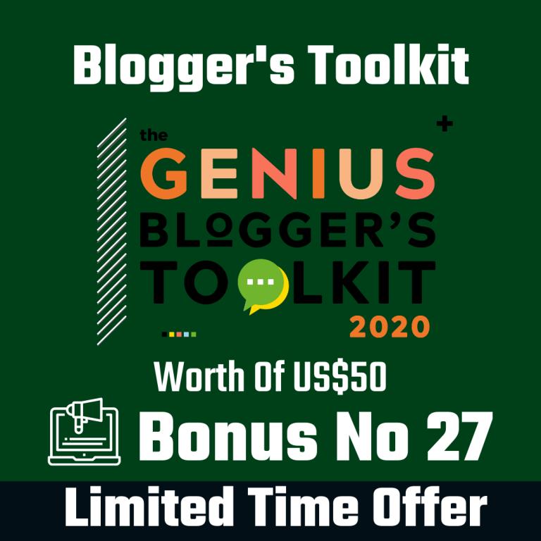 Genius Blogger Toolkit