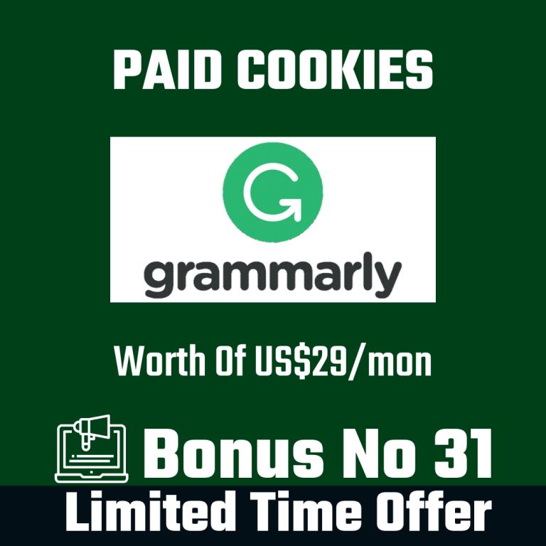 Paid Cookies