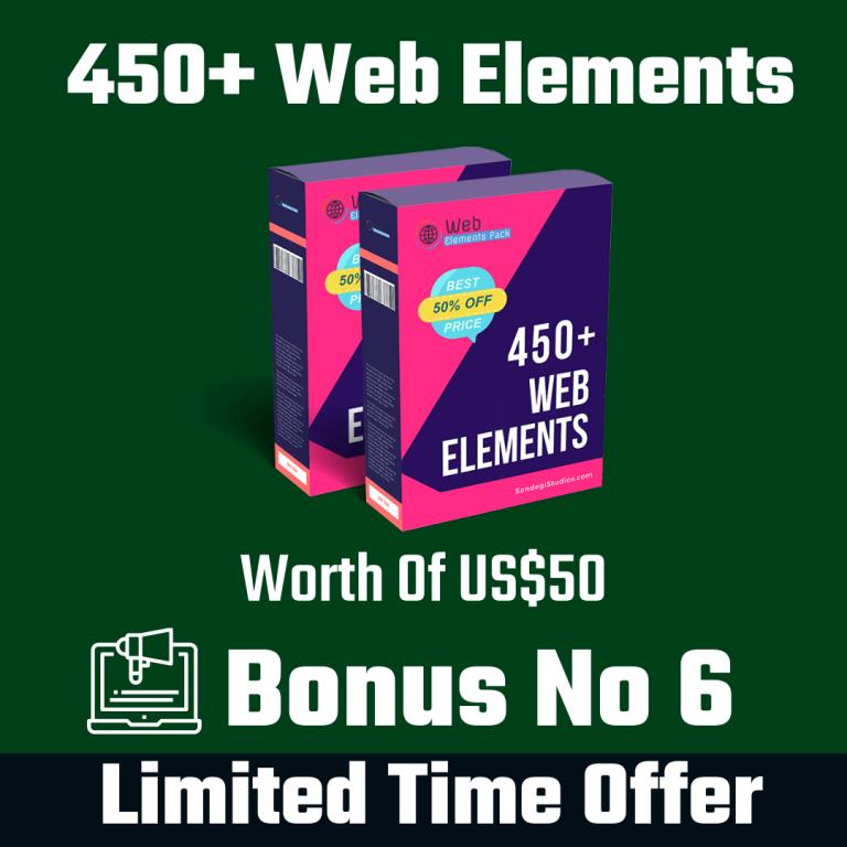 450+ Web Elements