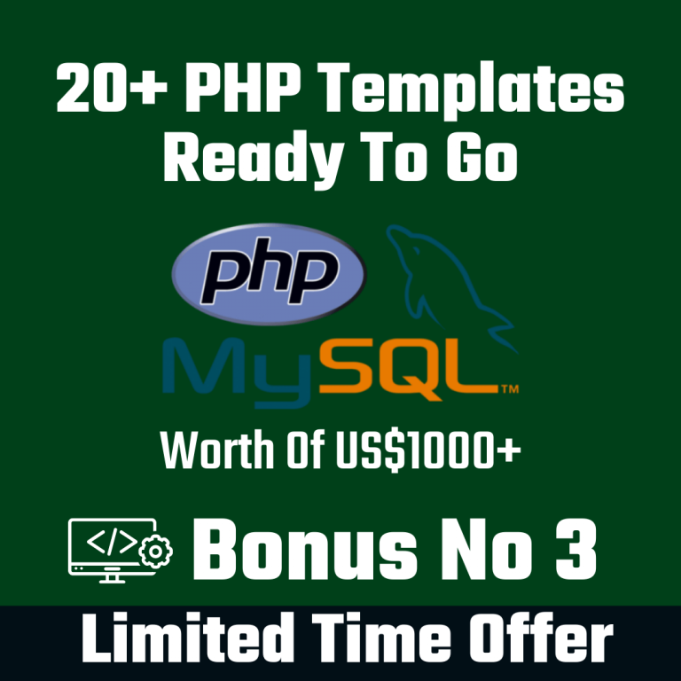 20+PHP Templates