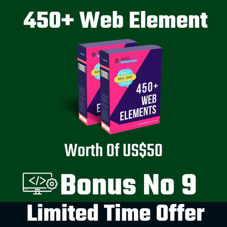 450+ Web Assets