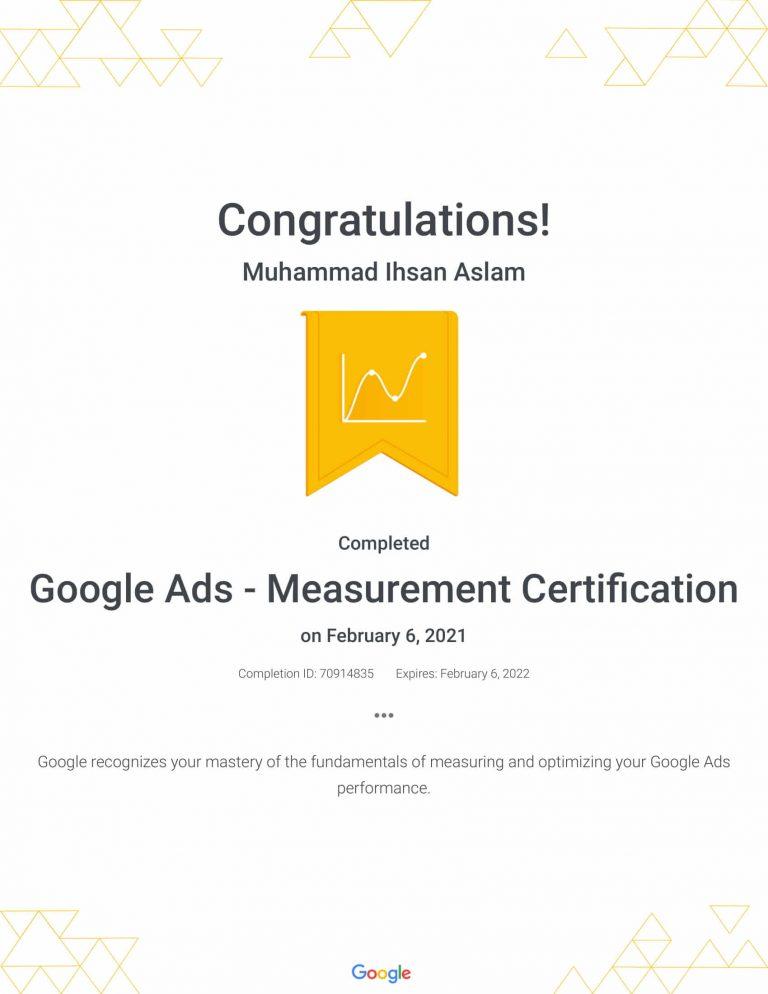 Google Ads - Measurement Certification _ Google-1