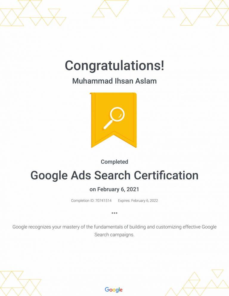 Google Ads Search Certification _ Google-1-2