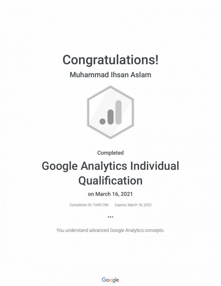 Google Analytics Individual Qualification _ Google-1