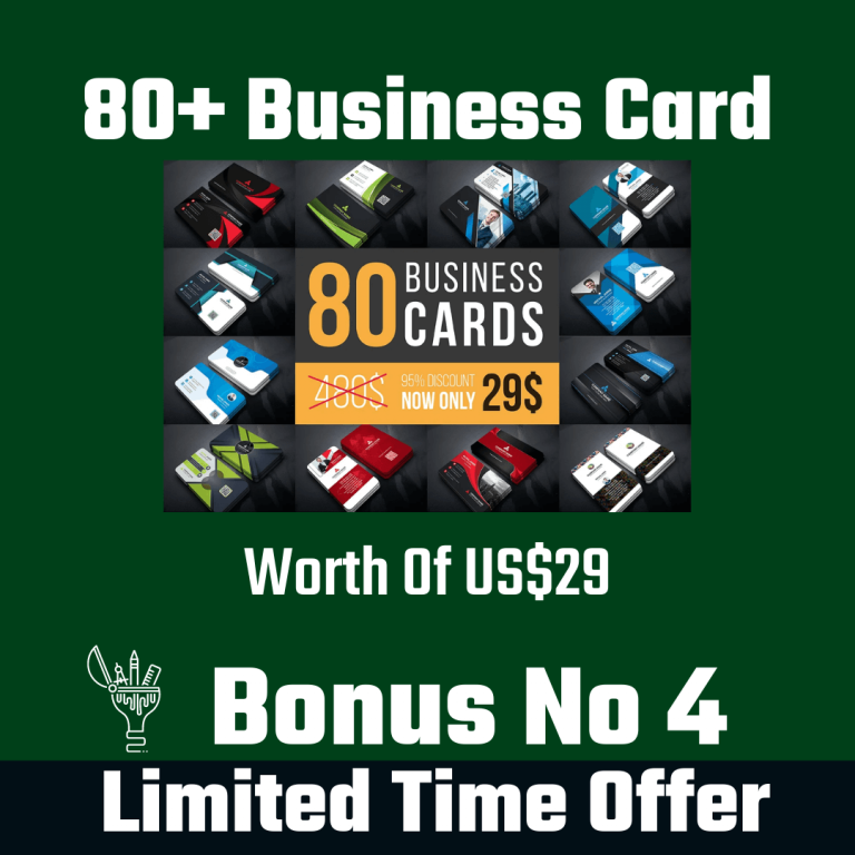 80+ Business Card
