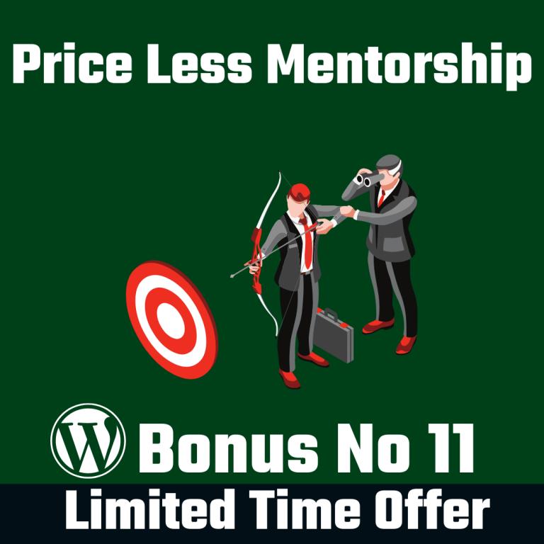 Price Less Mentorship