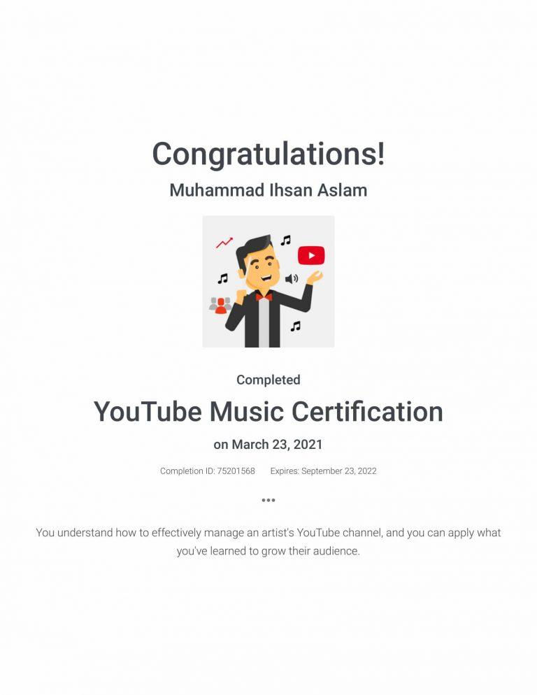 YouTube Music Certification _ Google-1